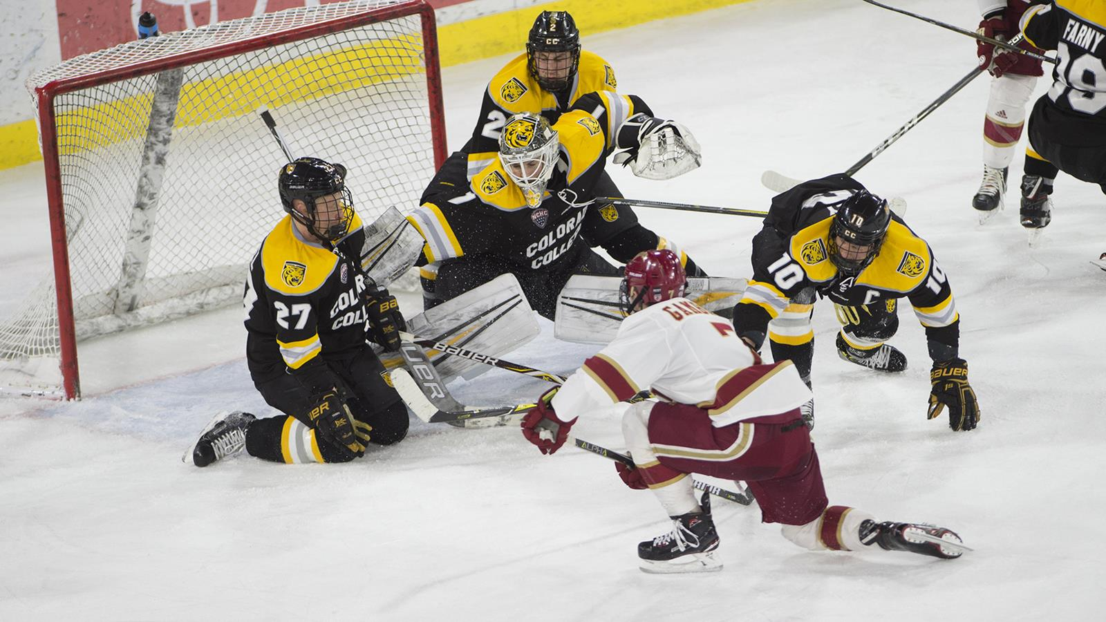 Five Notable Items - No. 1, Huge Step Forward For Colorado College, Who Were Picked Last, Against A Heavily Favored Denver Team