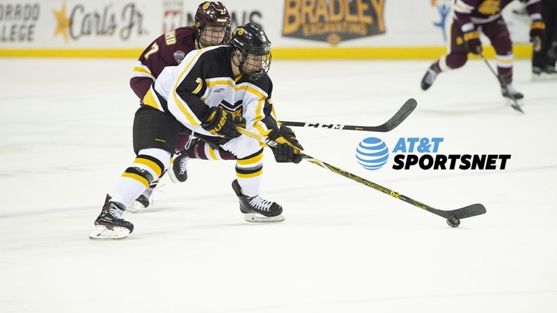 AT&T SportsNet to Televise Six Hockey Games